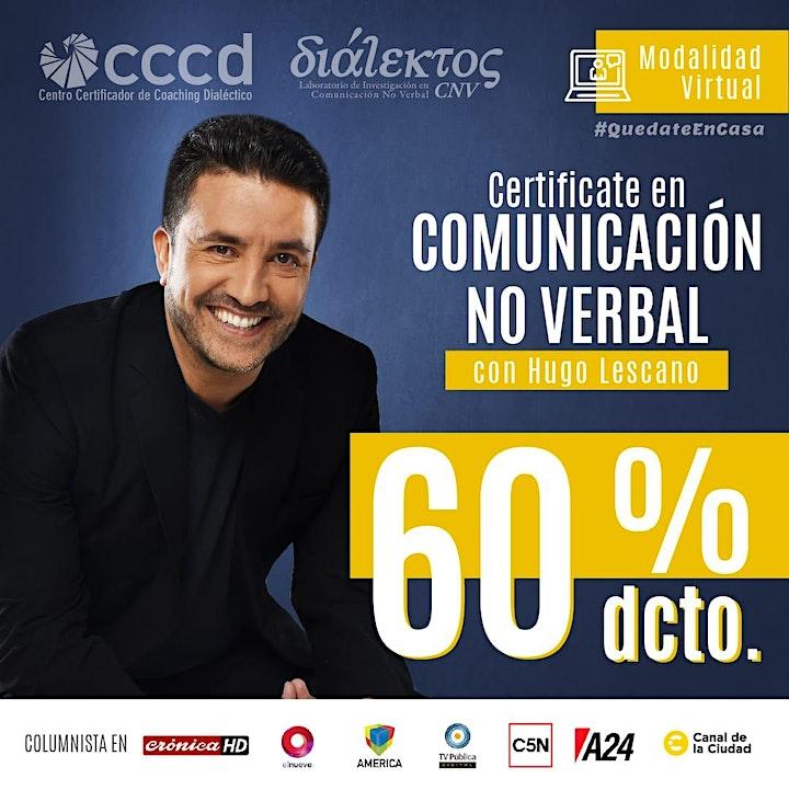 Imagen de Doble Certificación en Comunic. No Verbal con Coaching Dialéctico |VIRTUAL