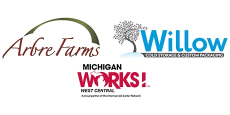 Virtual Job Fair for Arbre Farms & Willow Cold Storage tickets