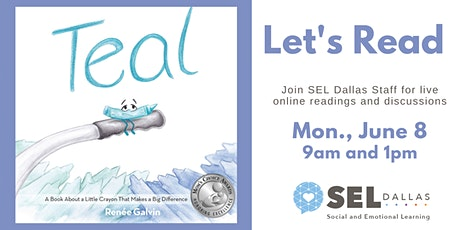 SEL Dallas Let's Read Teal by Renee Galvin tickets