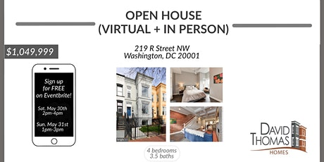 Open House - 219 R Street NW tickets