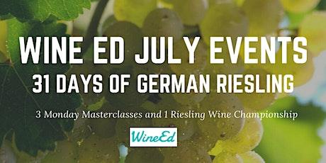 WineEd Riesling Wine Championship tickets