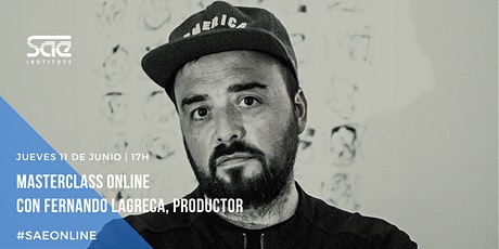 Masterclass con Fernando Lagreca: Cajas de Ritmo y Grooveboxes billets