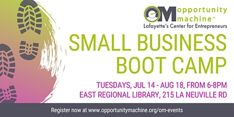 Small Business Boot Camp tickets