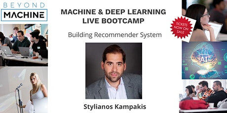 Machine & Deep Learning Online LIVE Bootcamp: Building Recommender System tickets