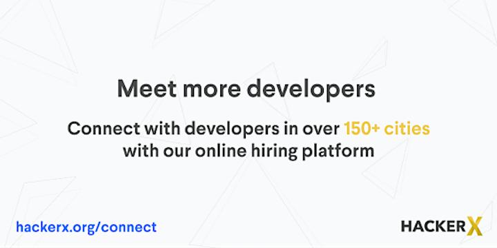 HackerX - Portland (D&I) Employer Ticket  - 10/28 (Virtual) image