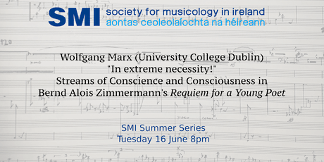 SMI Summer Series: Wolfgang Marx tickets