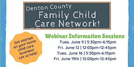 Family Child Care Network Information Session tickets
