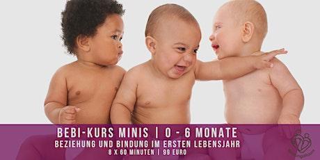 BeBi-Kurs | Beziehung und Bindung im ersten Lebensjahr (Mini, 0 - 6 Monate) Tickets