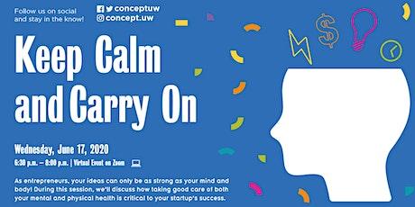 S20 Keep Calm & Carry On (Virtual) tickets