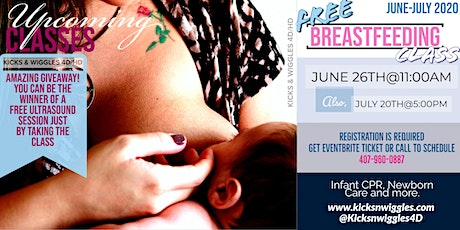 Breastfeeding Class tickets