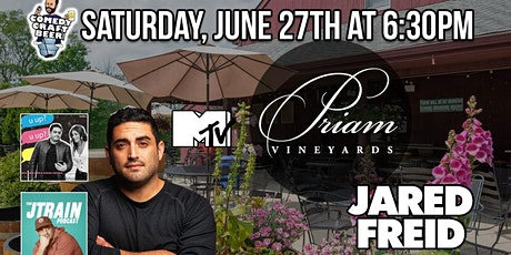 Priam Vineyards Comedy Night tickets