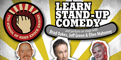 Learn stand-up comedy in Melbourne this August with Jeff Green tickets
