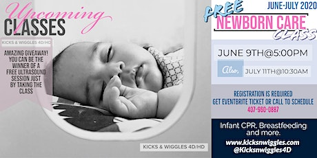Newborn Care Class tickets