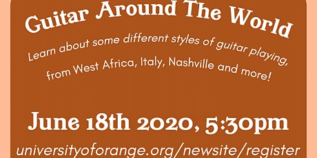 Guitar around the World tickets