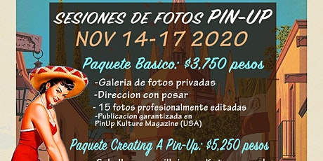 Sesiones de Fotos Pin-Up en San Miguel de Allende! boletos
