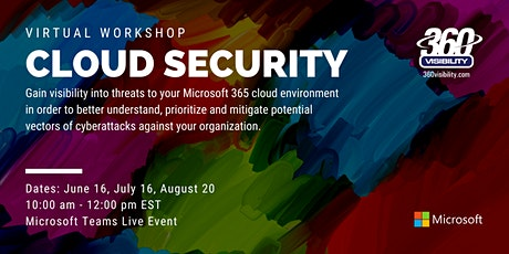 Cloud Security Virtual Workshop tickets