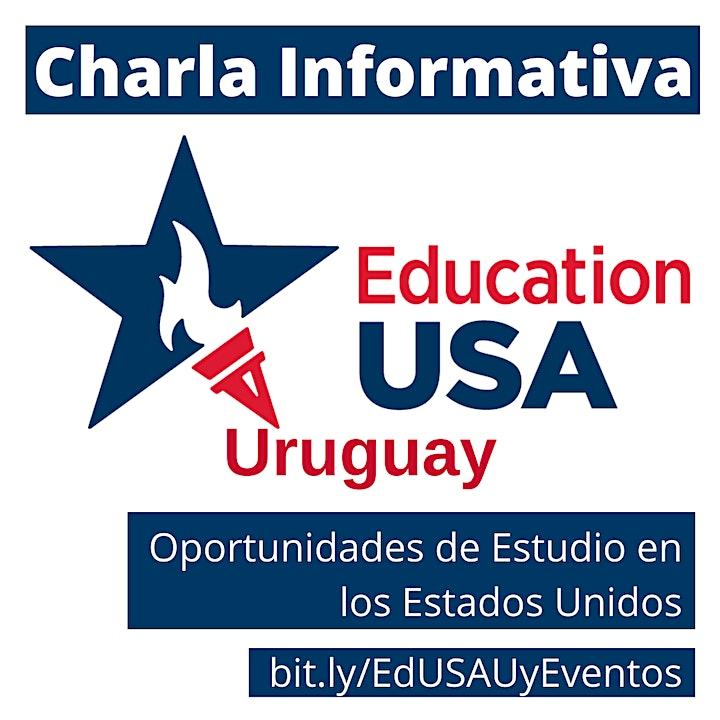 Charla Informativa VIRTUAL: Oportunidades de estudio en EEUU 25/5 image