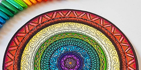 Mandalas: Mindfulness & Creativity *Online* tickets