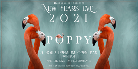 Poppy  NYE '21 | NEW YEAR'S EVE PARTY tickets