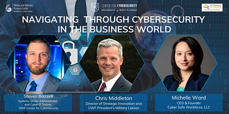 Navigating Through Cybersecurity In The Business World tickets