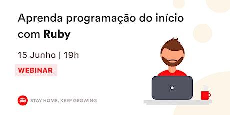 Aprenda Programação do início com Ruby | Le Wagon Rio bilhetes