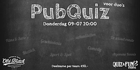 PubQuiz voor duo's | Breda tickets