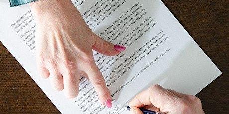 Curso de Gestão de Contratos com Aspectos Jurídicos – Transmissão Online bilhetes