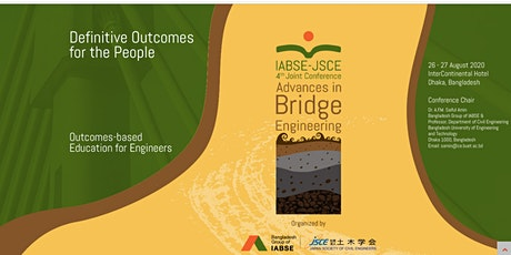 IABSE-JSCE Conference on Advances in Bridge Engineering-IV tickets