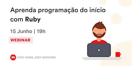 Aprenda Programação do início com Ruby | Le Wagon SP bilhetes