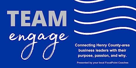 Team Engage (Live & Webinar) tickets