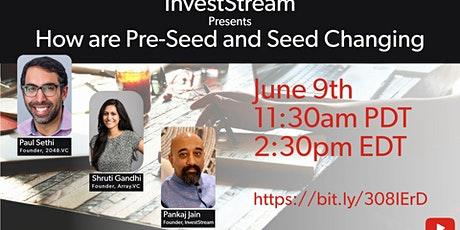 How are Pre-Seed and Seed Changing? tickets