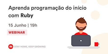 Aprenda Programação do início com Ruby | Le Wagon BH bilhetes