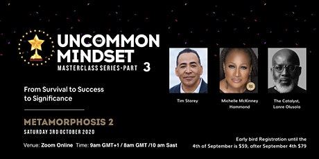 UNCOMMON MINDSET 3 tickets