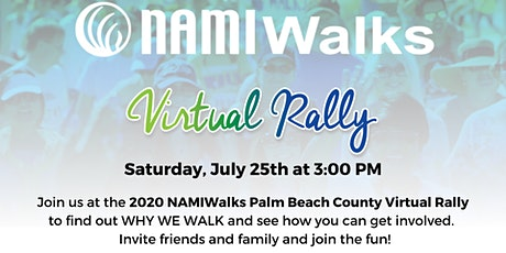 Virtual Rally for NAMIWalks Palm Beach County tickets