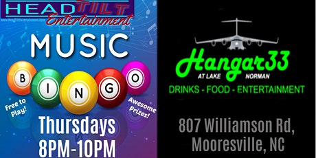 Music Bingo at Hangar 33 tickets