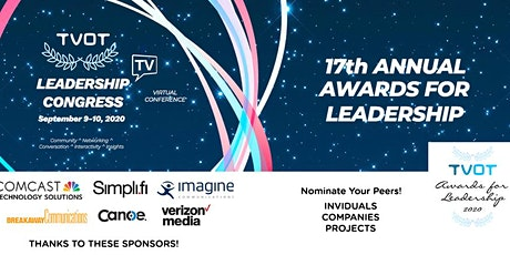 The TV of Tomorrow Show Leadership Congress 2020 - 14th Anniversary! tickets