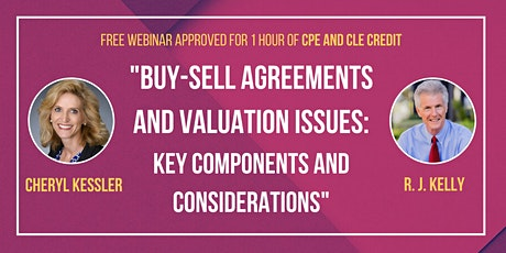 Buy-Sell Agreements and Valuation Issues: Key Components & Considerations tickets