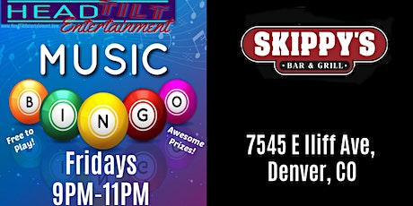 Music Bingo at Skippy's Bar & Grill tickets