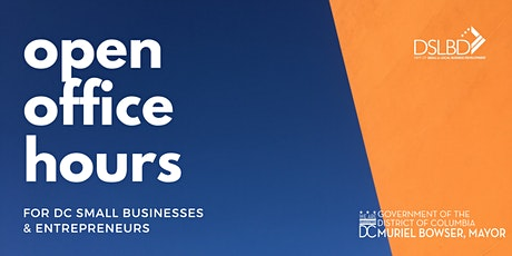 Online Open Office Hours for Your DC-Based Small Business tickets