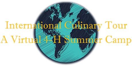 International Culinary Tour : Virtual 4-H Camp tickets