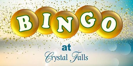 Bingo at Crystal Falls tickets