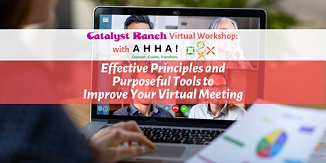 Effective Principles and Purposeful Tools to Improve Your Virtual Meeting tickets