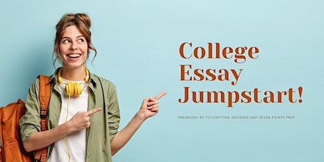 Free College Essay Jumpstart Workshop (Online) tickets