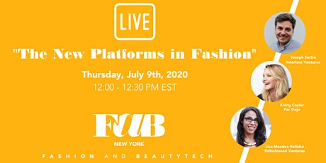 "FAB NY LIVE ""The New Platforms in Fashion"" tickets"