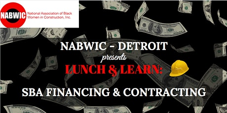 NABWIC- DETROIT'S  LUNCH & LEARN: SBA FINANCING & CONTRACTING tickets