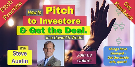 Pitch Practice-How to Pitch to Investors & Get the Deal tickets