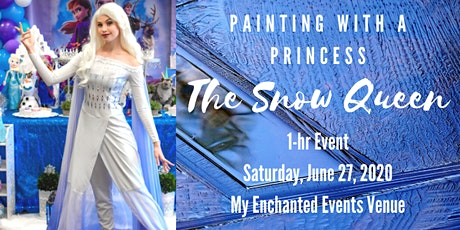 Character Workshops: Painting with a Princess - The Snow Queen tickets