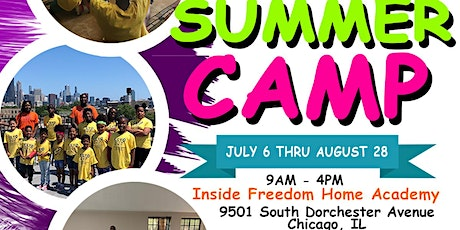 Taylor Services Youth Organization's Fun in the Sun Summer Camp tickets