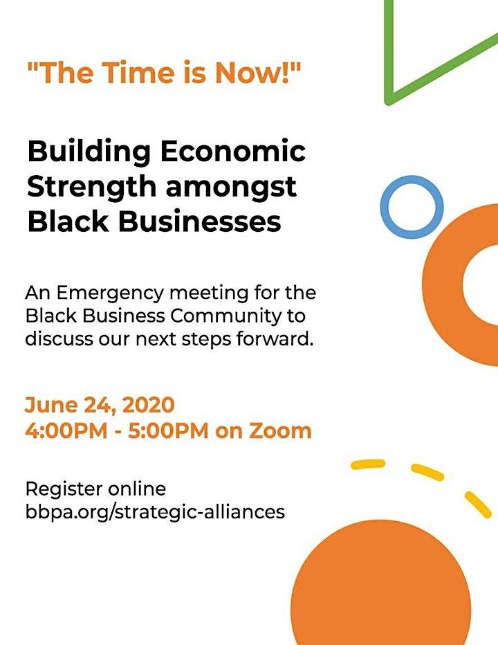 Building Economic Strength Amongst Black Business image
