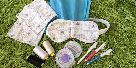Make Your Own Sleep Mask Take Home Kit - Ages 10 plus tickets